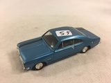 Collector Loose Trax Blue Color car 1/43 Scale Die-Cast Metal Made in Hongkong Car