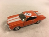 Collector Loose 1999 Road Champs 1970 Chevrolet Chevelle 1/43 Scale Die-cast Metal & Plastic Parts