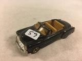 Collector Loose Vintage Chevrolet 1952 Black Scale 1/43 Convertible Die-Cast Metal Model car