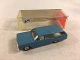 Collector Cragstan Detroit SR No.8100 Chevele  Station Made in Israel 1/43 Scale light Blue Color Mo