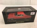 Collector New Minichamps Paul's Model Art Mercury Marauder  Hardtop Coupe 1969 Red DieCast Car