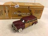 The Brooklin Collection  BRK. 87 1949 Desoto Station Wagon Open Box This End 1/43 Scale Metal