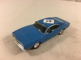 Collector Loose Die-cast Metal and Plastic Parts Dimension 4 Scale 1/43 Light Blue Color