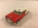 Collector Loose 1997 Road Champs 1955 Chevrolet Bel Air 1/43 Scale Die-Cast Metal Car