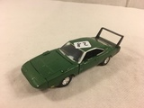 Collector Loose 1998 Road Champs 1999 Dodge Charger 1/43 Scale DieCast Metal Green Car