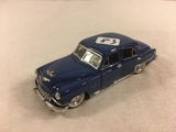 Collector Loose Franklin Mint Prescision Models Blue Die-Cast Metal 1952 Firedome 1/43 Scale Car