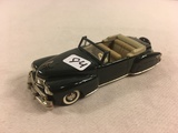 Collector Loose Vintage Collector's Classics Lincoln Continental '46 Bubay 1/43 Scale DieCast Metal
