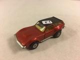 Collector Loose Vintage Matchbox Super Kings K-55 Corvette  Caper Cart 1975 By Lesney England