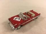 Collector Loose 1957-2000 Pontiac Bonneville Convertible 1/43 Scale DieCast Metal Red Color