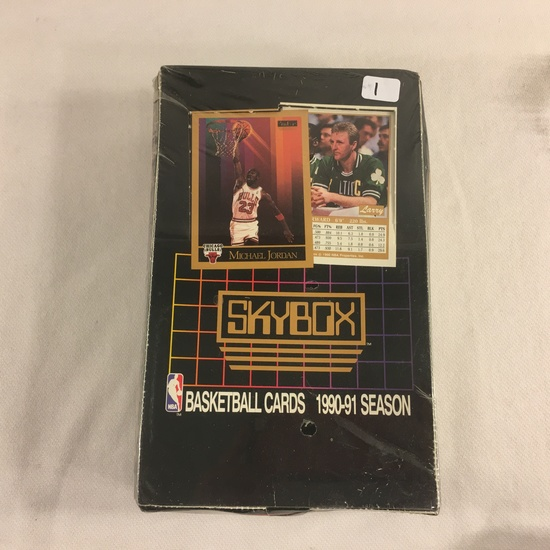 New Sealed in Box - Skybox 1991 Basketball Cards 1991 Season Sport Trading Cards