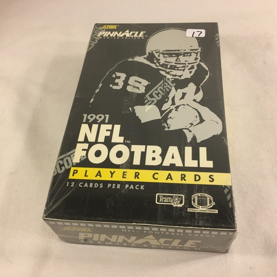 New Sealed in Box - Score Pinnacle Premier Edition 1991 Football Player Sport Trading Cards