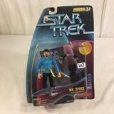 NIP Collector Star Trek Warp Factor Series Playmates Mr. Spock Action Figure 4