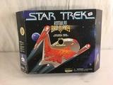 NIB Collector Star Trek Romulan Bird Of Prey Neutral Zone Incursion Craft No.16126 Series Edt. 12x17