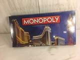 New Sealed in Plastic Box Monopoly Palazzo Las Vegas Trading Game Monopoly