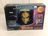 Nib Collector Star Trek Strike Force Klingon Great Hall Lt. Worf. K . Mpec 12x8