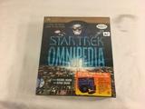 New Sealed in Plastic Box Star Trek Premier Edition Omnipedia CD-Rom