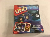 Collector New Sealed In Plastic Box Star Trek Special Edition UNO Mattel