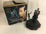 Collector Loose In Box Star Trek Borg Queen and Data 1997 Paramount Box Size: 10x10