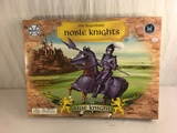 Collector Marx Toys The Legendary Noble Knights SIR Brandon The Blue Knight Size:21x15.5