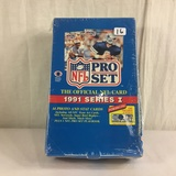 New Sealed in Box - Pro NFL Set The Official NFL Card 1991 Series I Trading Sport Cards
