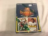 New Sealed in Box - 1992 Fleer Football Trading Sport Cards Item NO.510