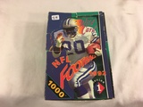 Box has Been Open- But, each Package Still Sealed - 1992 NFL Football Wild Card Series 1 Sport cards