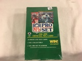 New Sealed in Box - The 1990 Pro Set NFl  Official NFl Sport Trading Sport Football Sport Cards