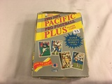Box has Been Open- But, each Package Still Sealed -1992 Pacific NFL Pro Football Plus Player Sport C