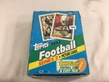 Box has Been Open- But, each Package Still Sealed - 1992 Topps Football Series 2 Sport Trading Cards