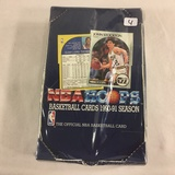 New Sealed in Box - NBA Hoops Basketball Cards 1991 Season The Official NBA Basketball Sport Cards