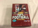 Box has Been Open- But, each Package Still Sealed -1991 Score NFL Football Player Trading Sport Card