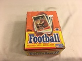 Box has Been Open- But, each Package Still Sealed -Vintage 1988 Topps Football Picture Trading Cards