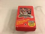Box has Been Open- But, each Package Still Sealed -1989 Vintage NFL The Official Trading Sport Cards