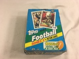 Box has Been Open- But, each Package Still Sealed -1992 Topps Football Series 2 Pictured Cards