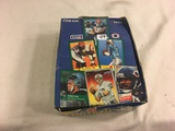 Box has Been Open- But, each Package Still Sealed -1991 Fleer Football Sport Trading Cards