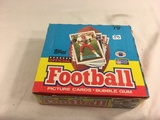 Box has Been Open- But, each Package Still Sealed -1989 Vintage Topps Football Picture Cards