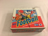 Box has Been Open- But, each Package Still Sealed - Vintage 1988 Topps Football Picture cards