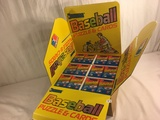 New in Box Collector 1989 Vintage Donruss Baseball Counter Display Contains: 216 Wax Packs Cards
