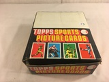 Box has Been Open- But, each Package Still Sealed -Vintage 1987 Topps Sports Picture Cards