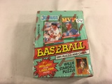 New Sealed in Box - 1991 Donruss MVP Baseball Puzzle and Cards Sport Trading Cards