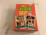 Box has Been Open- But, each Package Still Sealed -1990 Topps Football Picture Cards Bubble Gum Card