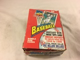 Box has Been Open- But, each Package Still Sealed -1991 Topps Major League Baseball Bubble Gum Cards