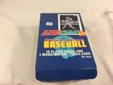 Box has Been Open- But, each Package Still Sealed -Vinatge 1989 ajor League Score Baseball Sport Car