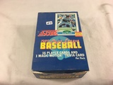 Box has Been Open- But, each Package Still Sealed -Vintage 1989 Score Major League Baseball Cards