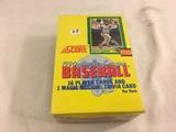 Box has Been Open- But, each Package Still Sealed - 1990 Major League Baseball Score Player Sport Ca