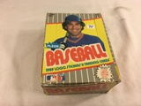 Box has Been Open- But, each Package Still Sealed - Vintage 1989 Logo Stickers & Trading Sport Cards