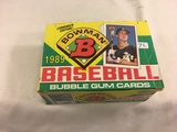 Box has Been Open- But, each Package Still Sealed - 1989 Vintage Bowman Baseball Bubble Gum Cards