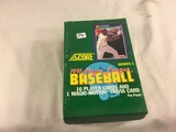 Box has Been Open- But, each Package Still Sealed - 1991 Score Major League Baseball Player Cards