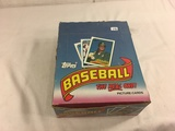 Box has Been Open- But, each Package Still Sealed - 1989 Vintage Topps Baseball Picture Sport Cards