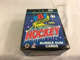 Box has Been Open- But, each Package Still Sealed -1990 Bowman NHL Hockey Bubble Gum Cards